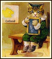 vintage cat lesson