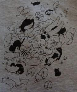 StasiaB cat fashion t-shirt