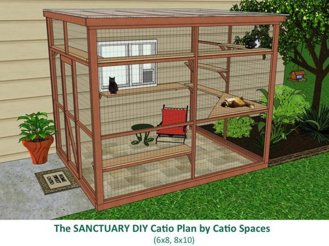 Catio spaces DIY
