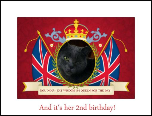 cat birthday princess