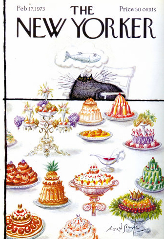 Ronald Searles cat cakes