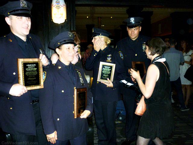 NYPD awards animal cruelty