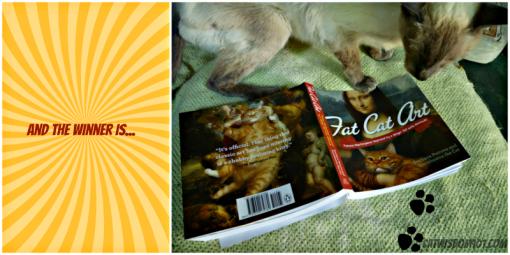at Cat Art Book winner