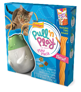 Friskies Pull n Play- Party Mix