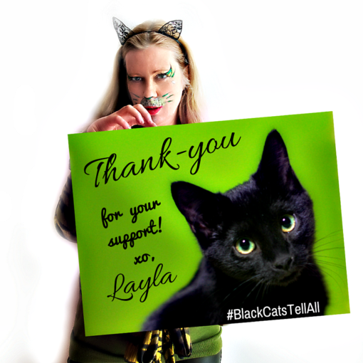 Layla_Thank-you_BCTA-1-510x510 Why Award-winning New York Cat Expert Layla Morgan Wilde is Celebrating 7 years of blogging With A Rant