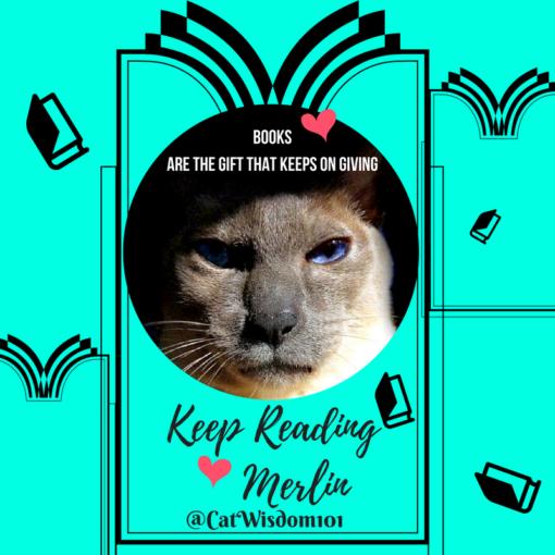 Merlin_cat_books