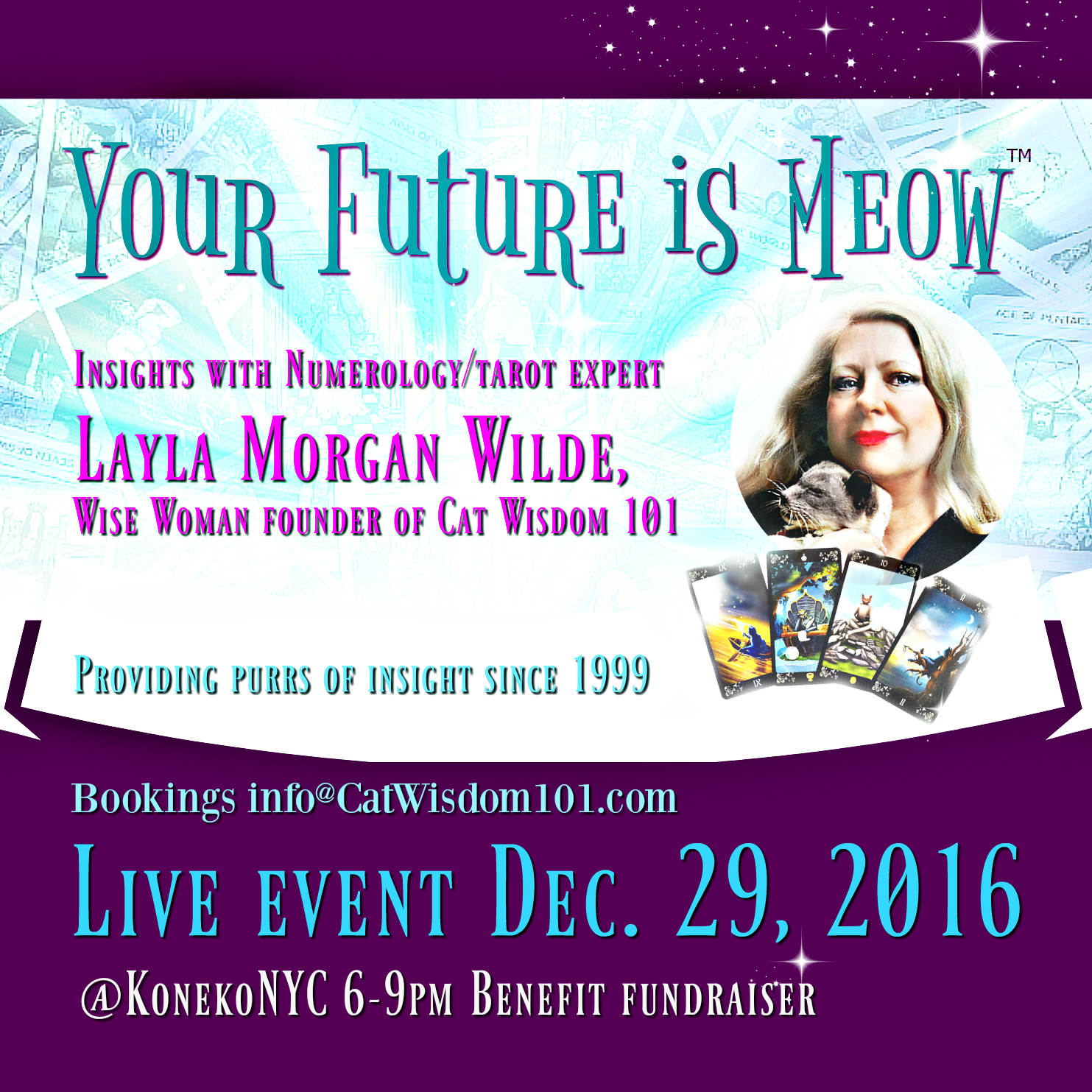The Future Is Meow With Layla Morgan Wilde at KonekoNYC