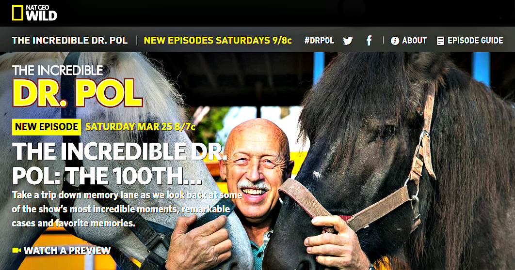 We Speak With The Incredible Dr  Pol, A Veterinarian Who