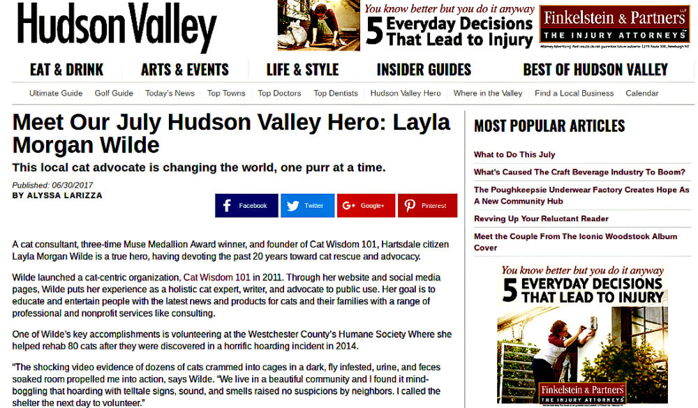 Hudson Valley Hero_Layla Morgan Wilde