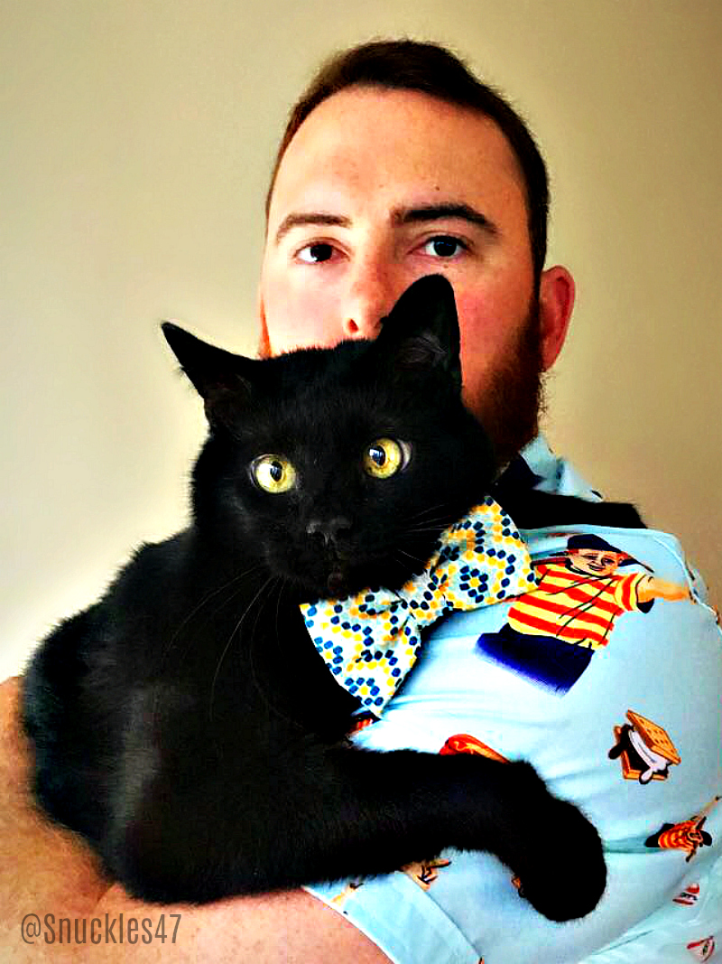 snuckles_sam Q & A With SF Giants Sam Dyson and His Lucky Black Cat Snuckles