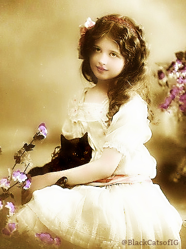 antique_photo_girl_black_cat