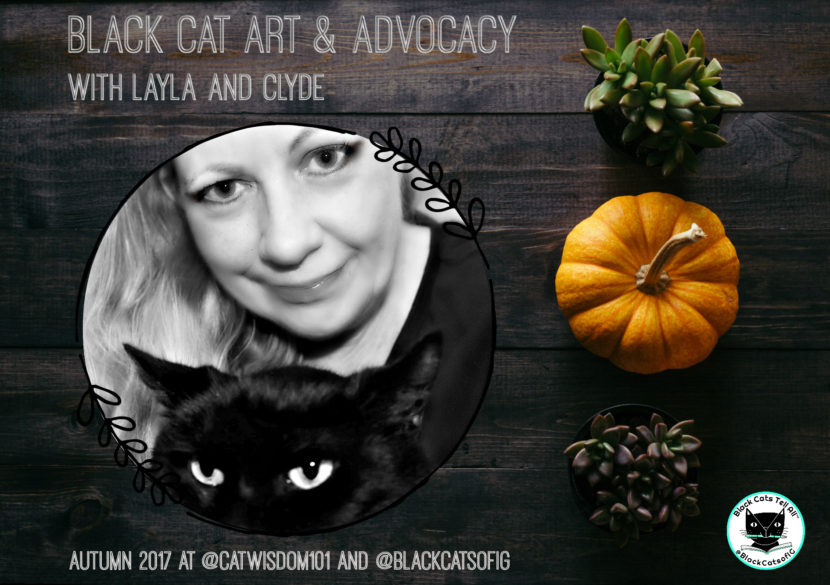 black Cat art and Advocacy