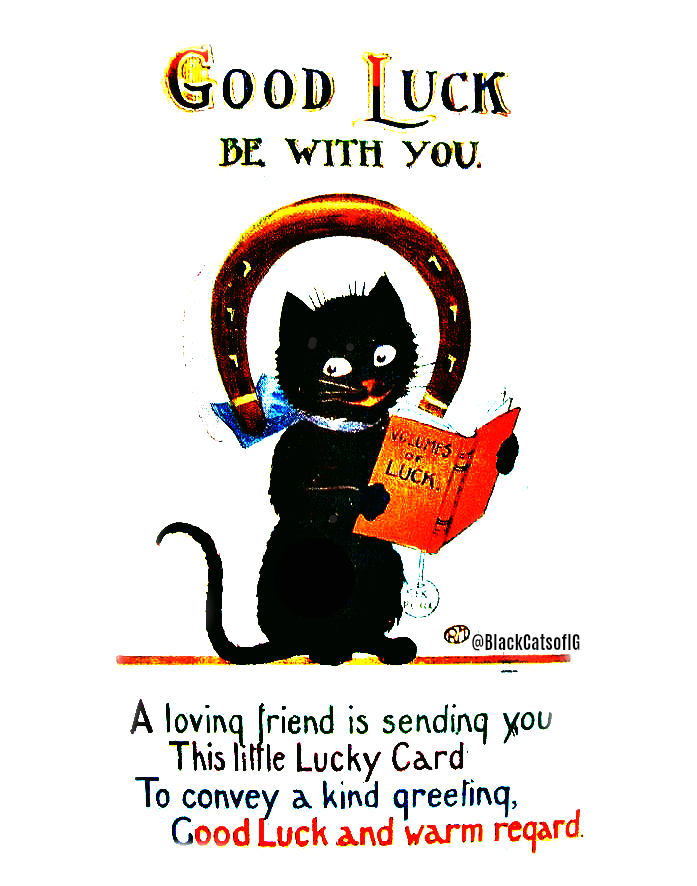 good_luck_black_cat_Card