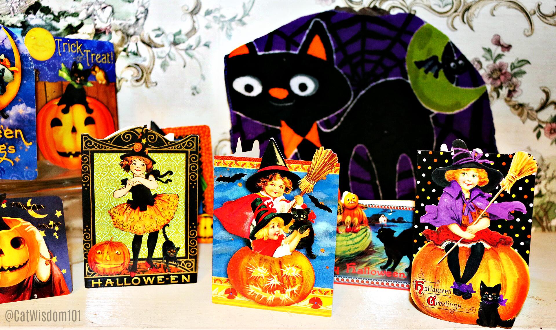 vintage_Halloween_cats