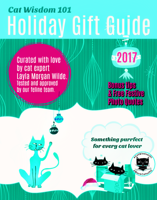 Holiday_gift_Guide_Cat_wisdom_101-510x649 Why Award-winning New York Cat Expert Layla Morgan Wilde is Celebrating 7 years of blogging With A Rant