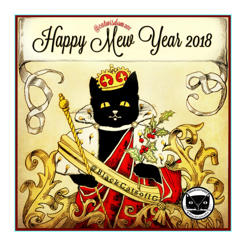 New_year_2018_black_cats-e1514706633983 100 Years of New Year's Eve Cheer With Cats