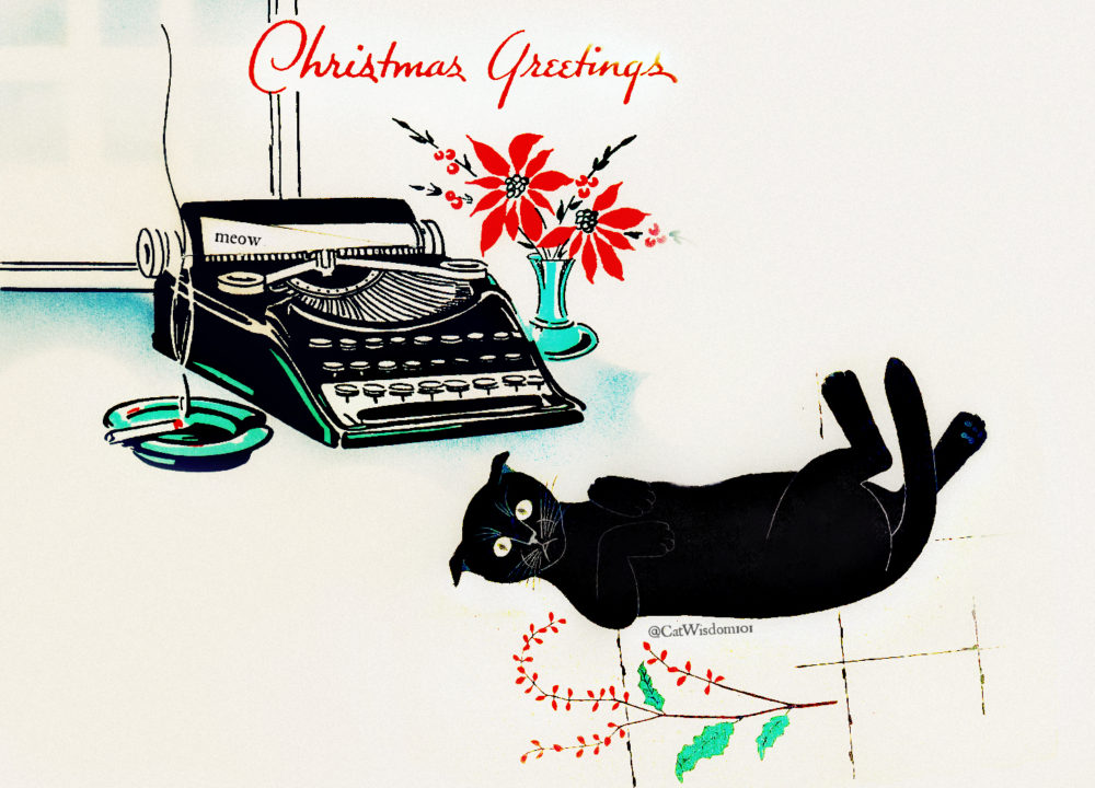 vintage_cat_typewriter_christmas