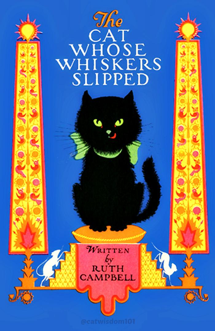 ELIZABETH CADIE 1925_cat whose whiskers