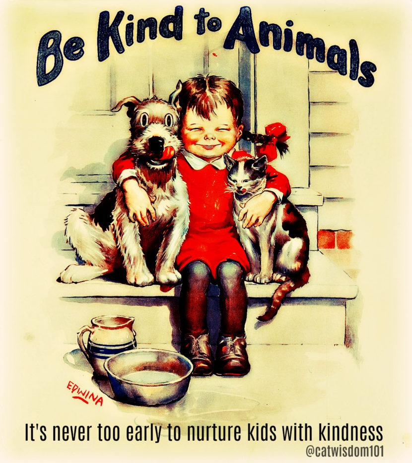kind_to_animals_week-art_cat_dog
