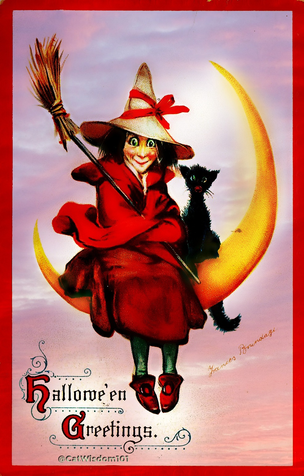 alloween_witch_Cat_moon_brundage