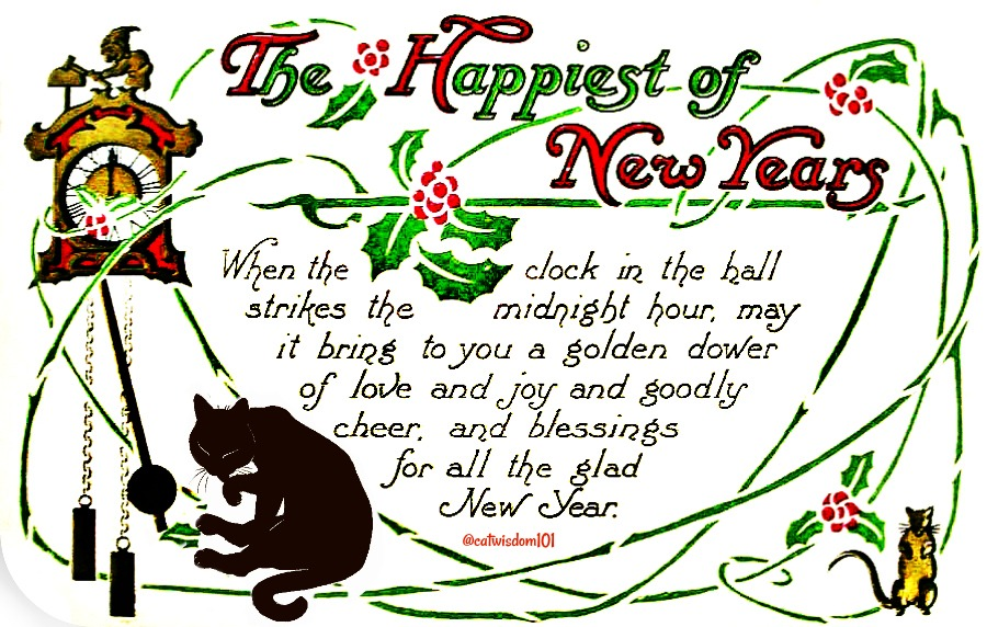 vintage_new_year_clock_catwisdom101
