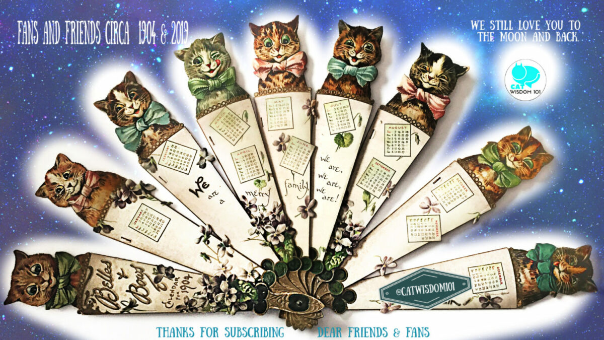 Life Changing Super Full Moon Astrology Plus Creative Vintage Cat Calendars
