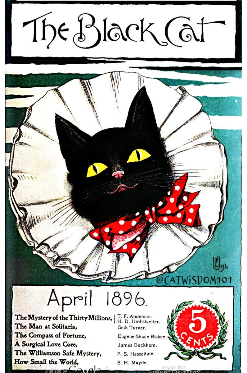 Black cat Magazine-april-1896
