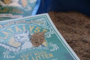 catalyst cat litter sample