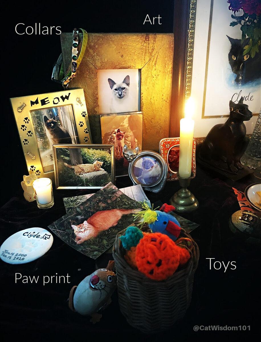 cat lovers altar