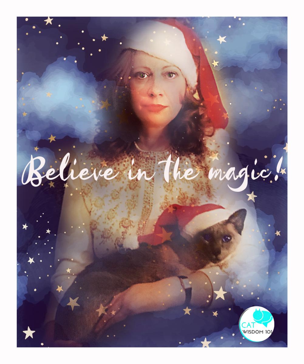 believe in magic cat